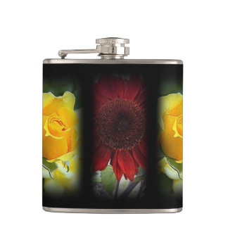OPPOSING COLORS Y1--R4 HIP FLASK