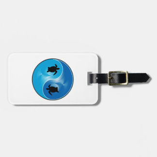 Opposites Attract Luggage Tag
