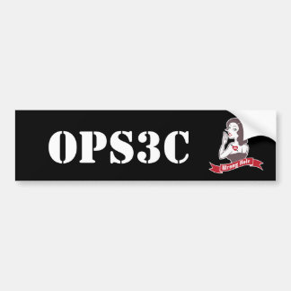 Opsec Bumper Sticker