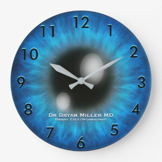 Opthamology Custom Clock