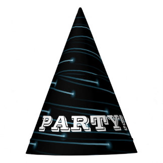 Optic fiber cables party hat