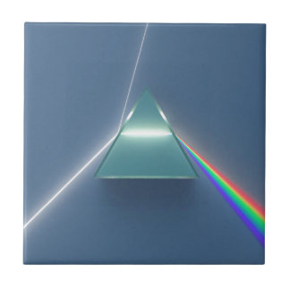 Optic Prism Refracting and Reflecting Light Ceramic Tile