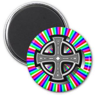 Optical Celtic Cross Magnet