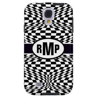 Optical Checkerboard Galaxy S4 Case