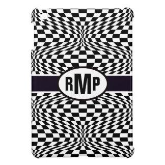 Optical Checkerboard iPad Mini Covers