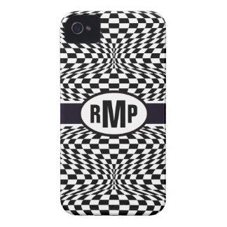 Optical Checkerboard iPhone 4 Cases