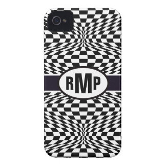 Optical Checkerboard iPhone 4 Covers