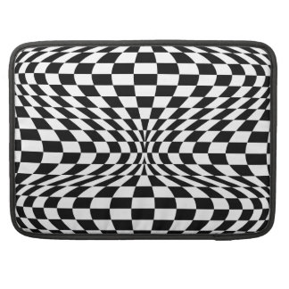 Optical Checkerboard Sleeve For MacBook Pro