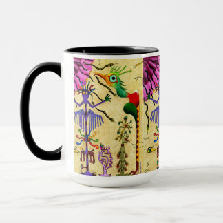 """Optical Confections"" 15 oz Ringer Combo Mug"