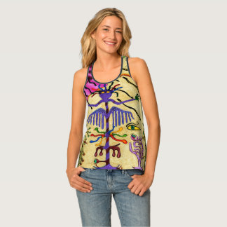 """Optical Confections"" Women's All-Over Print Tank"