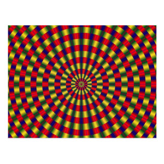 Optical Illusion 1 Postcard