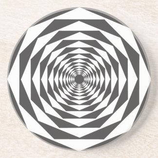 Optical Illusion #1b Coaster