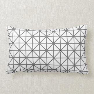 optical illusion background pattern texture geomet lumbar cushion