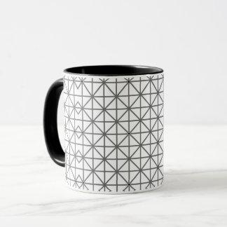 optical illusion background pattern texture geomet mug