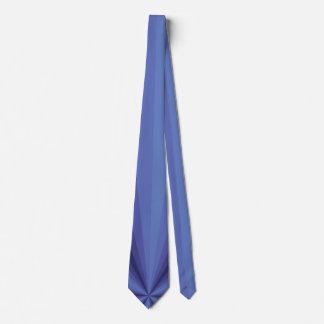 Optical Illusion Blue Men's Neck Tie