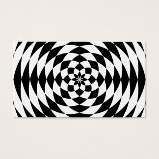 Optical Illusion Business Card