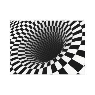 Optical Illusion Canvas Print