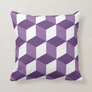 optical illusion geometry pillow