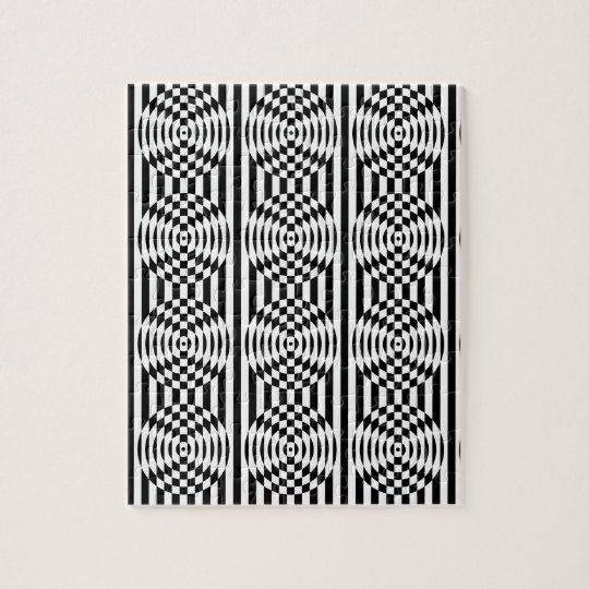 Optical Illusion Jigsaw Puzzle