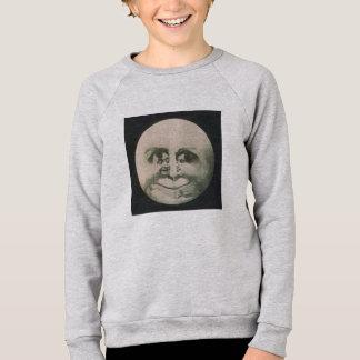 Optical Illusion - Moon Sweatshirt
