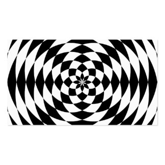 Optical Illusion Pack Of Standard Business Cards