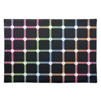 Optical Illusion Place Mat