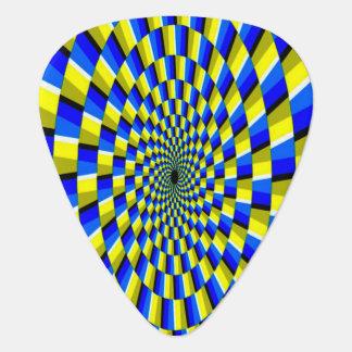 Optical Illusion Plectrum