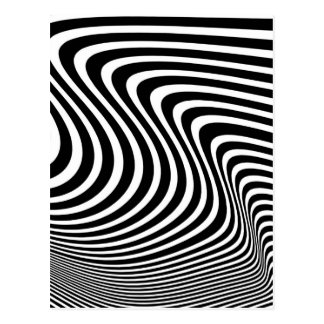 Optical Illusion Postcard