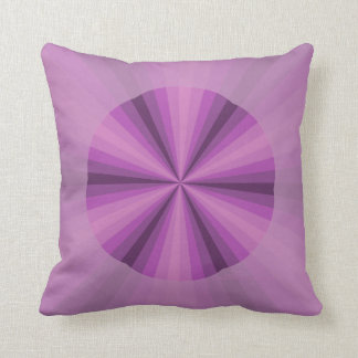 Optical Illusion Purple Pillow