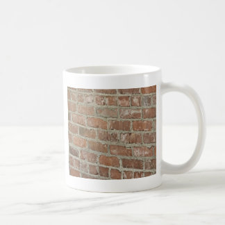 Optical Illusion Red brick wall Coffee Mug