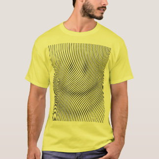 optical illusion smiley face T-Shirt