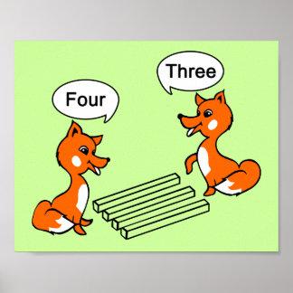 Optical illusion Trick Poster