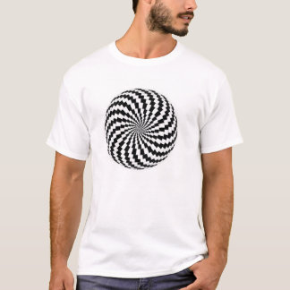Optical Illusion V T-Shirt