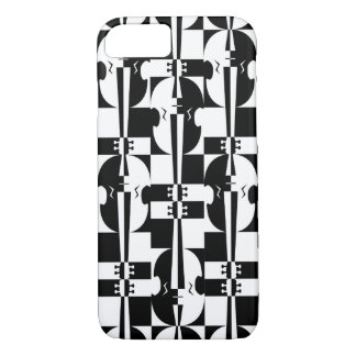 Optical Illusion Violins iPhone 8/7 Case