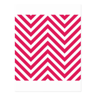 Optical illusion with zig zag lines postcard