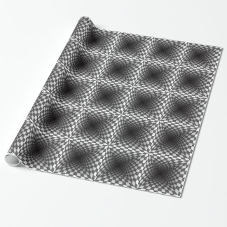 OPTICAL ILLUSION WRAPPING PAPER