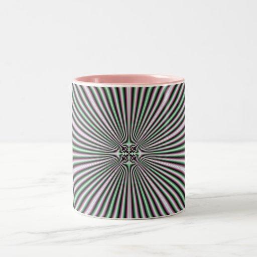optical illusions - 4 Two-Tone mug