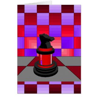 Optical Knight Chess CricketDiane 2013 Card