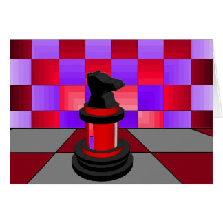 Optical Knight Chess CricketDiane 2013 Card