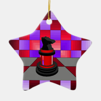 Optical Knight Chess CricketDiane 2013 Christmas Ornaments