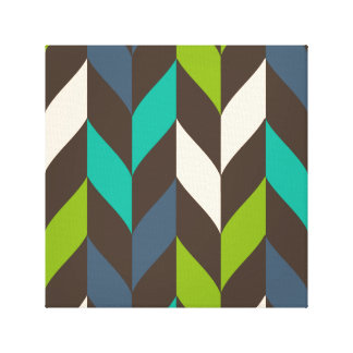 Optical leaves wrapped canvas gallery wrap canvas