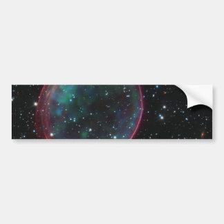 Optical:X-ray Composite Image of Supernova Remnant Bumper Sticker