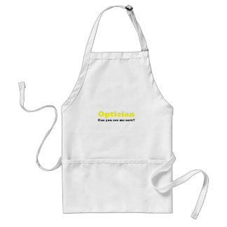 Optician Can You See Me Now Standard Apron
