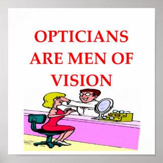 optician poster