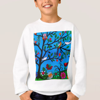 OPTIMISM BIRDS TREE OF LIFE SWEATSHIRT