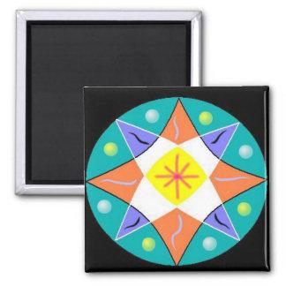 Optimism Mandala Magnets