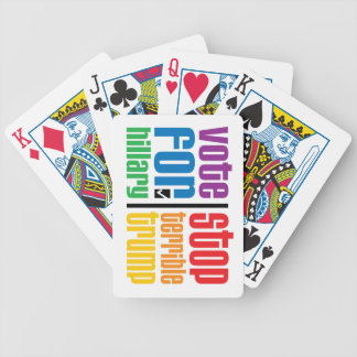 Optimist Bicycle Playing Cards