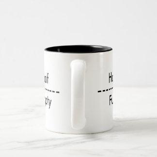 Optimist/Pessimist Mug