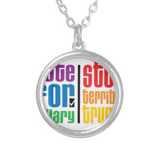Optimist Silver Plated Necklace