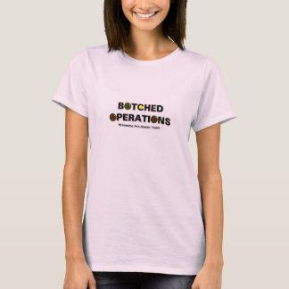 Option #1 Women's Botched Operations Bocce Ball T-Shirt